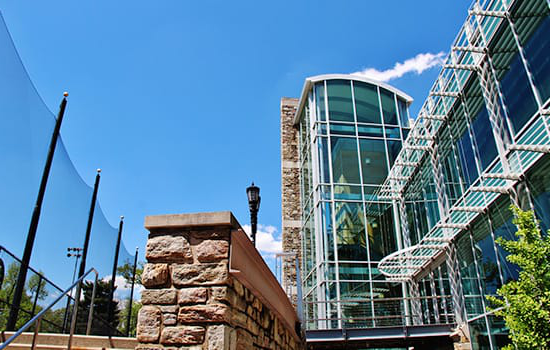 The student center